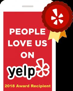 People Love Us on Yelp 2018