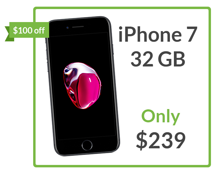 Grab an iPhone 7 32 GB for only $239!